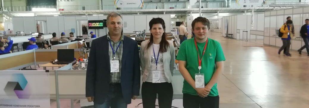 Эксперт Ленинградской области принимает участие AtomSkills-2019